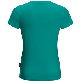 Jack Wolfskin Wolf T-shirt Enfant, green ocean